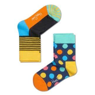 2-pack Happy Socks Kids Big Dot sokken