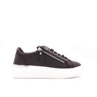 Alex McQ Sneakers Met Sierrits, Zwart