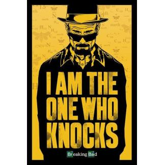 Breaking Bad: I am the one who knocks - poster