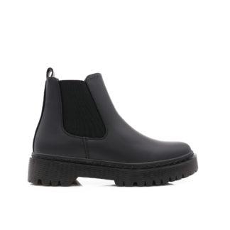Chelsea Boots Met Platformzolen, Zwart