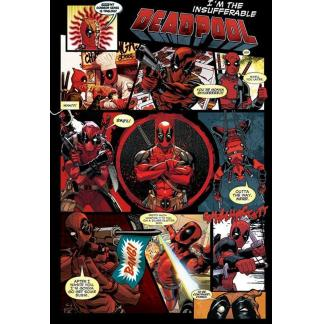 Deadpool: Panels - Maxi Poster