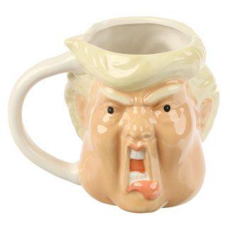 Donald Trump mok