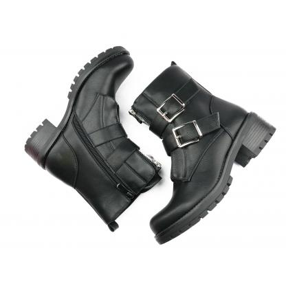 Double Buckle Boots - A271