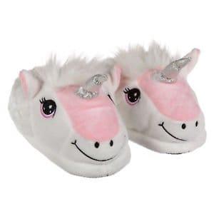 Eenhoorn pantoffels / unicorn sloffen