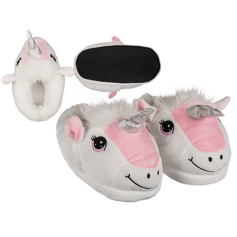 b4d8e4162a6 Eenhoorn (unicorn) pantoffels / sloffen