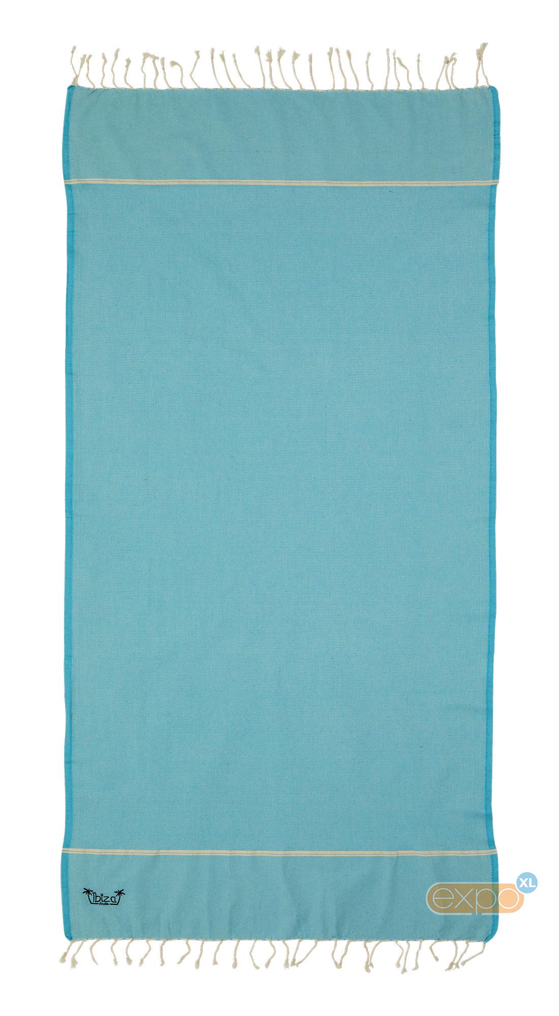 Expo XL Fouta Es Vedra - XL hamamdoek - turquoise