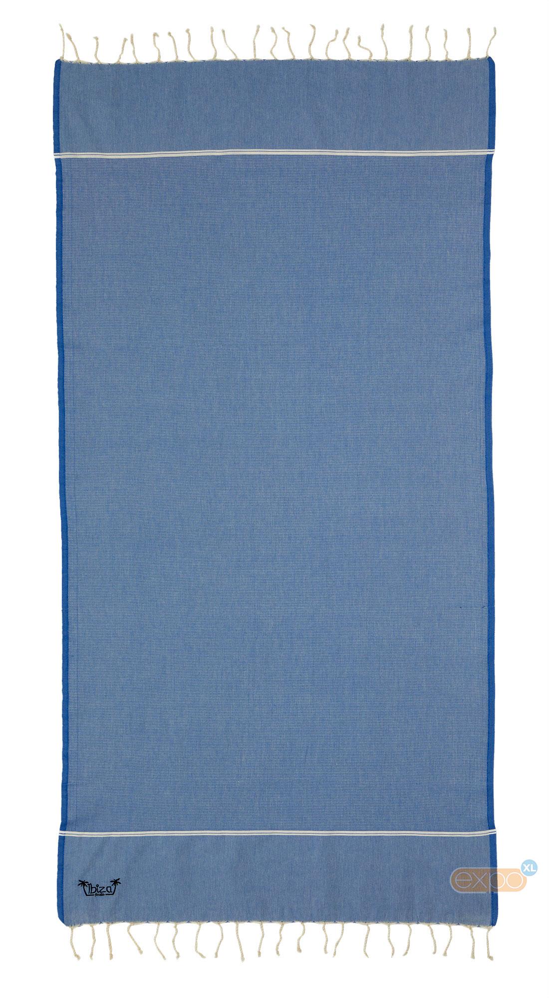 5aabbf5ce82 Fouta Es Vedra - XL hamamdoek - blauw kopen? | Expo XL
