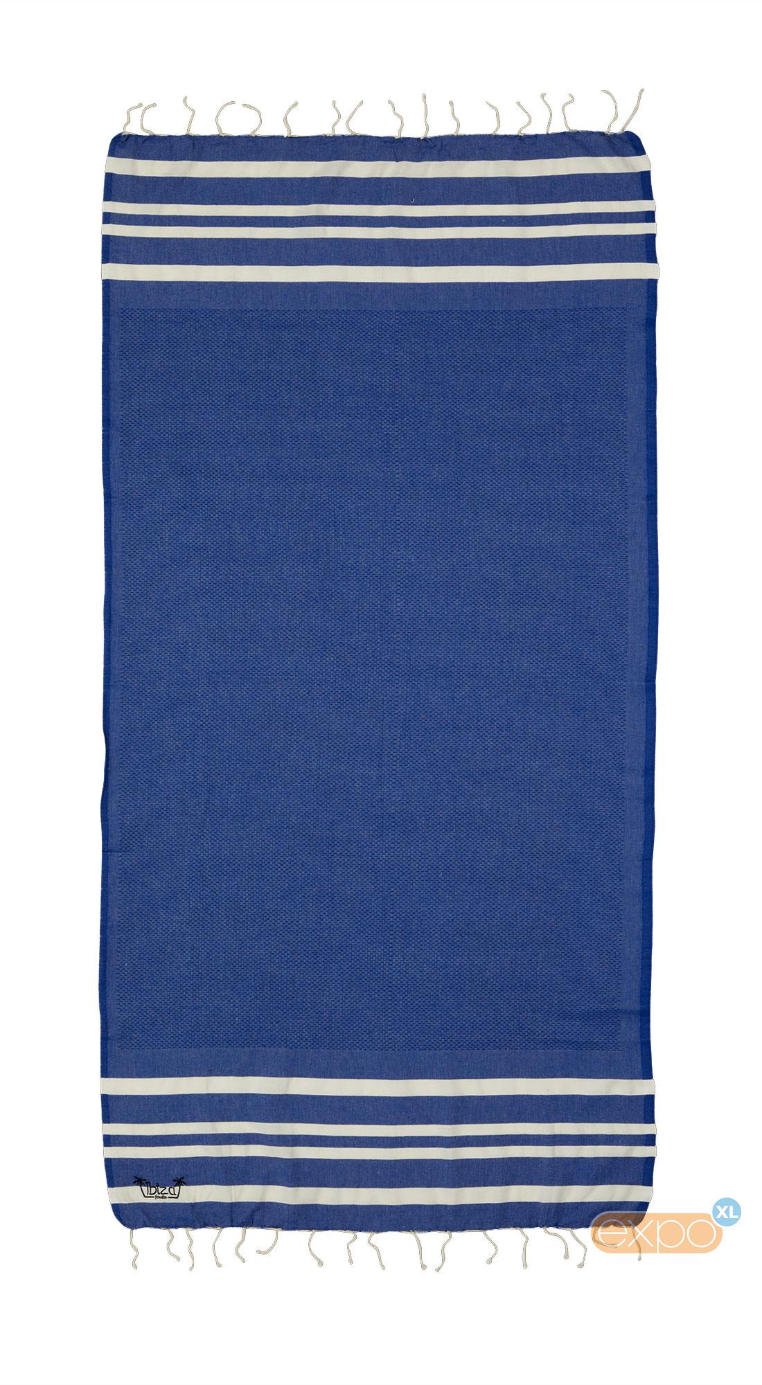 Expo XL Fouta Salines - XL hamamdoek - blauw