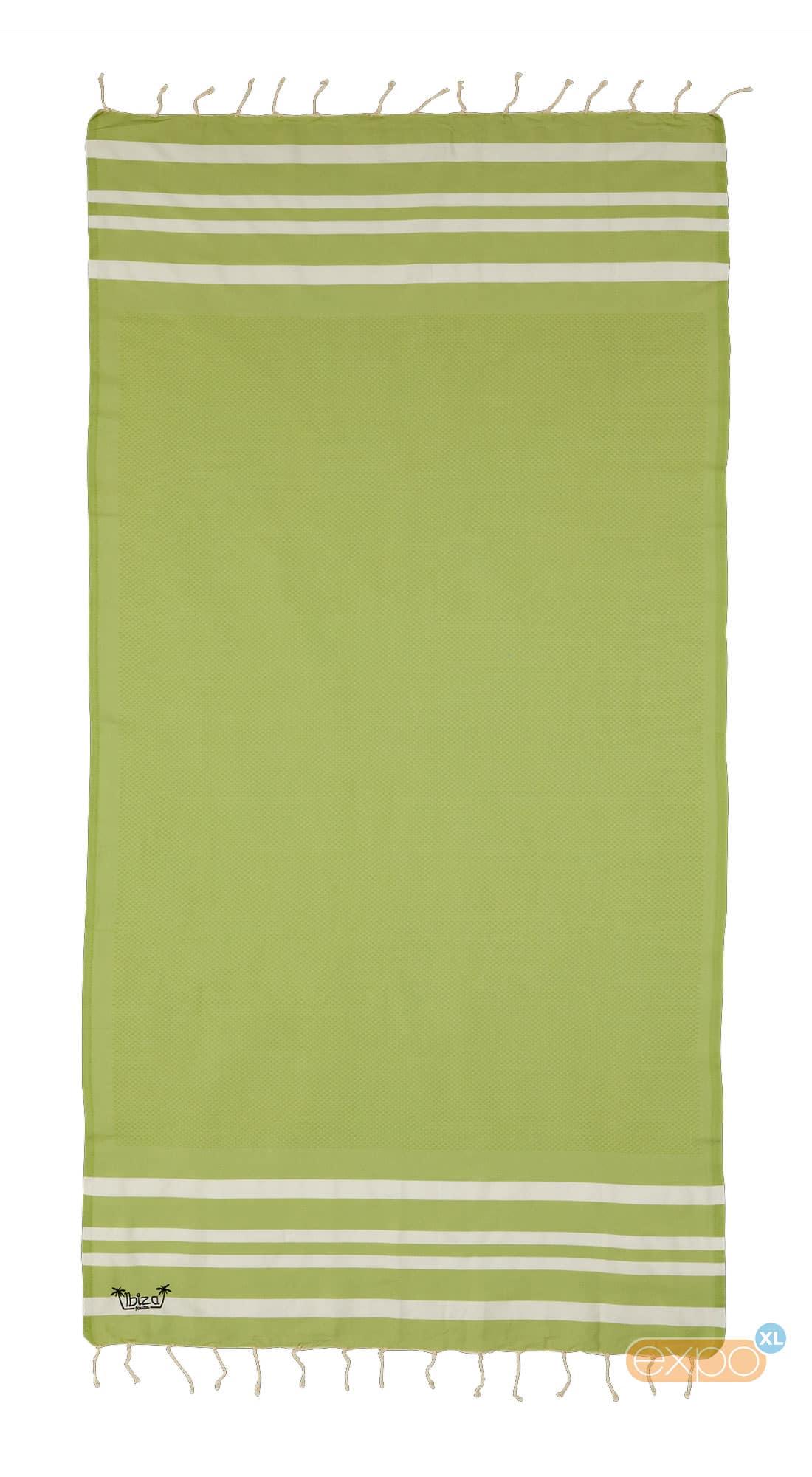 Expo XL Fouta Salines - XL hamamdoek - groen