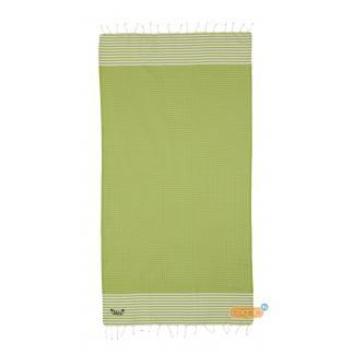 Fouta Ses Boques - XL hamamdoek - groen
