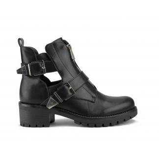 Future Cut Out Boots, zwart