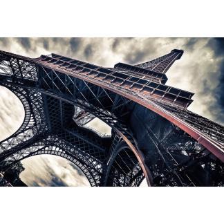 Glas schilderij Eiffeltoren