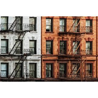 Glas schilderij Manhattan appartment