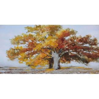 Grote Boom - Canvas schilderij - Olieverf