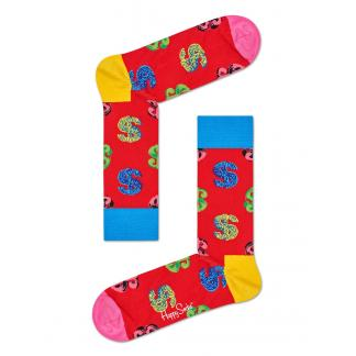 Happy Socks X Andy Warhole Dollar sokken - rood