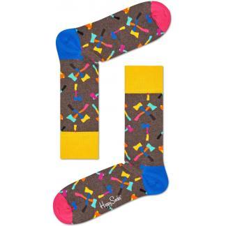 Happy Socks Axe sokken - grijs