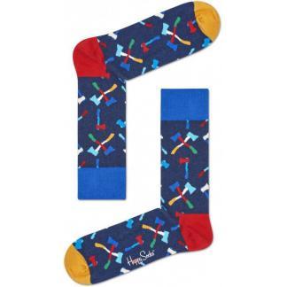Happy Socks Axe Sokken, Blauw