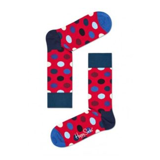 Happy Socks Big Dot Sokken, Rood