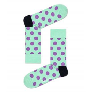 Happy Socks Big Dot sokken, Mintgroen, Maat 36-40