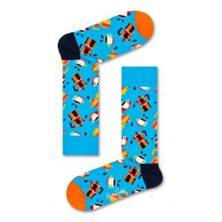Happy Socks Coffee Sokken, Blauw