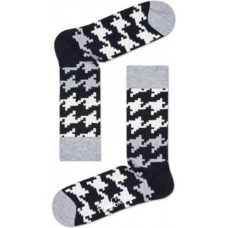 Happy Socks Dogtooth Sokken, Grijs