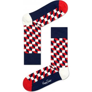 Happy Socks Filled Optic sokken
