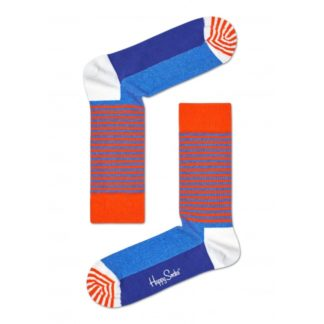 Happy Socks Half Stripe Sokken, Oranje