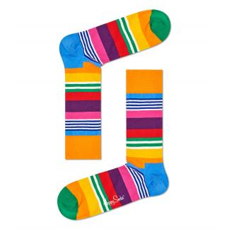Happy Socks Multi Stripe sokken
