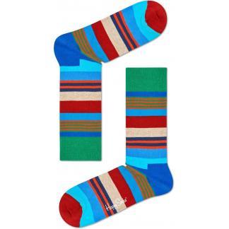 Happy Socks Multi Stripe sokken - groen
