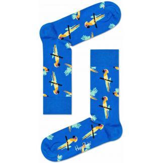 Happy Socks Papegaai Sokken, Blauw