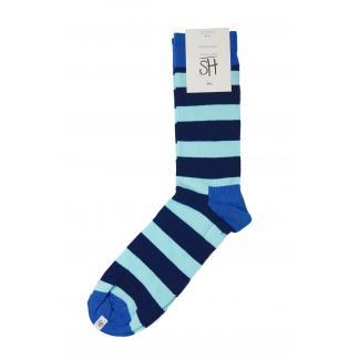 Happy Socks Stripe sokken - Blauw