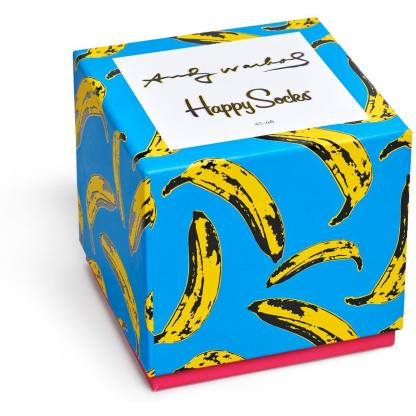 Happy Socks X Andy Warhol giftbox - Limited Edition
