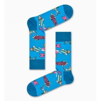 Happy Socks x The Beatles Fish & Whales Sokken