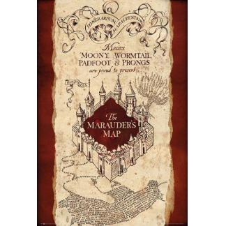 Harry Potter: The Marauder's Map poster