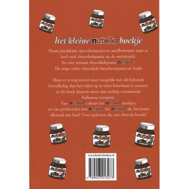 Het Kleine Nutella Boekje - achterkant