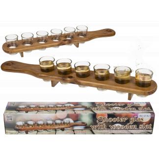 Houten Shotglas Houder