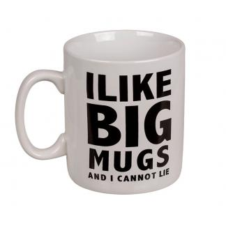 I like big mugs and I cannot lie - XL mok