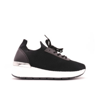 Coco Stretch Knit Sock Sneakers, Zwart