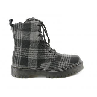 Lumberjack Biker Boots - grijs