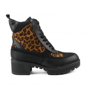 LV-3 Platform Desert Boots, Leopard