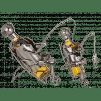 Metall-Flaschenhalter, Angler II
