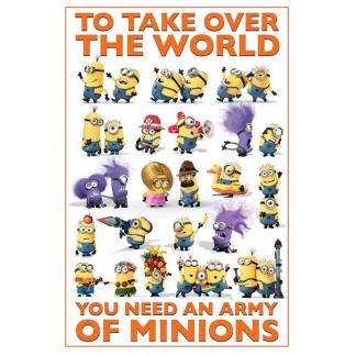 Despicable Me 2 - Army of minions - Maxi Poster