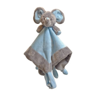 My Teddy knuffeldoek Olifant - blauw