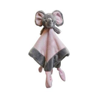 My Teddy knuffeldoek Olifant - roze