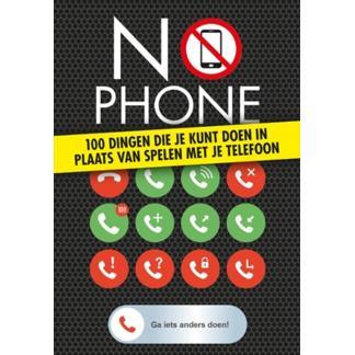 No Phone boek