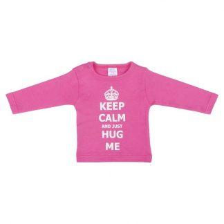 Petit Villain shirt - Keep Calm and just Hug Me