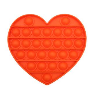 POP IT® Fidget, Hartje, Oranje