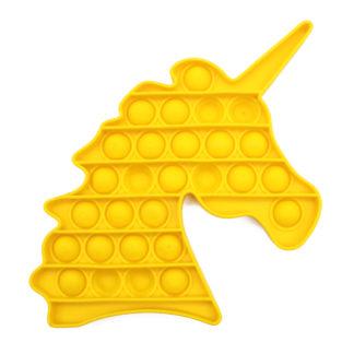 POP IT® Fidget, Unicorn, Geel