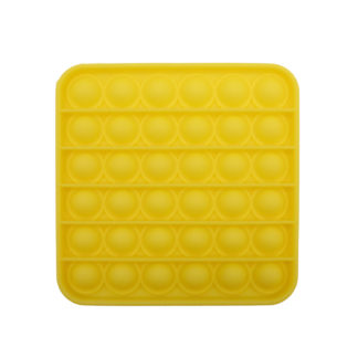 POP IT® Fidget, Vierkant, Geel