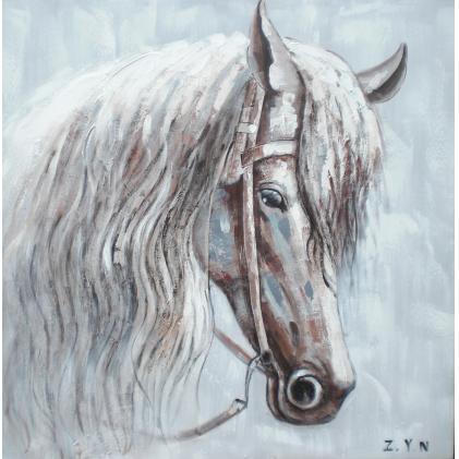 Verwonderlijk Paard Portret - Canvas schilderij - Olieverf - Kunst, Canvas PN-15